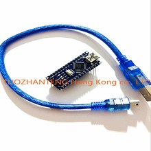 10pcs  Nano 3.0 controller compatible with arduino nano CH340 USB driver with CABLE NANO V3.0