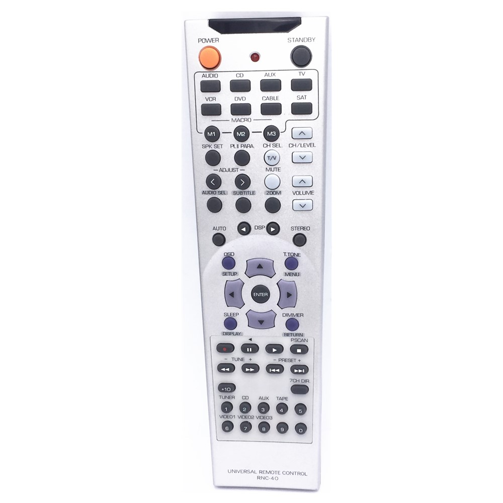 RNC-<font><b>40</b></font> For Sherwood RD-8108 AV receiver 5.1 channel Universal RC <font><b>Remote</b></font> <font><b>Control</b></font> image