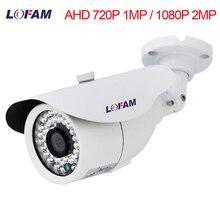 LOFAM Surveillance Camera 720 p 1080 p AHD Câmera Day Night Vision Camera CCTV AHD 1MP 2MP IR Ao Ar Livre À Prova D Água câmera de segurança