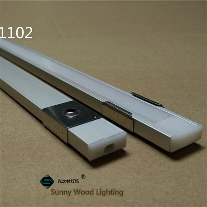 20-80m/lot 10-40pcs of 2m 80inch/pc aluminum profile for led strip,slim led channel for 8-11mm strip,  led bar light track 10 40pcs lot 80 inch 2m 90 degree corner aluminum profile for led hard strip milky transparent cover for 12mm pcb led bar light