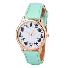 Moda Casual Esporte Exército Top Marca de Luxo Mens Relógios De Quartzo-Relógio de Couro mulheres relógios