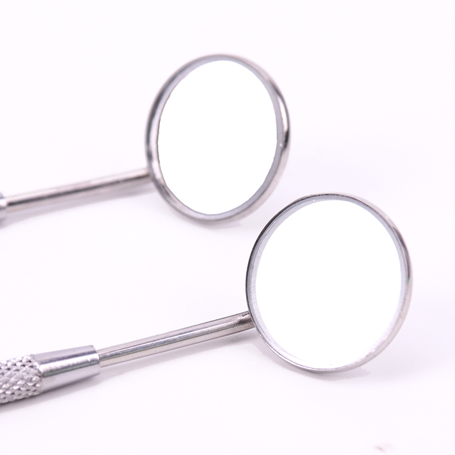 Stainless Steel Ear Wax Cleaning Tools Mirror Instruments Mouth For Checking Eyelash Extension Applying Eyelash ToolsTeeth Tooth 4