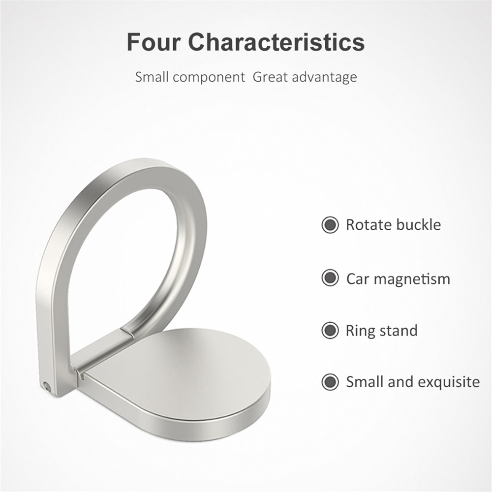 JUSFYU Water Droplet Phone Ring Universal 360 Degree Finger Mobile Phone Metal Stand Holder For Apple iPhone Samsung Xiaomi in Phone Holders Stands from Cellphones Telecommunications