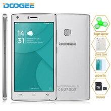 "4G D'origine DOOGEE X5 MAX Pro RAM 2 GB ROM 16 GB 5.0 ""Android 6.0 MTK6737 Quad Core 1.3 GHz Soutien OTG OTA GPS Smartphone"