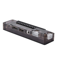 8pin+6pin ATX PCI E Riser Laptop External Independent Video Card Dock With MINI PCI E Data Line Without Power Supply