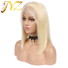 Glueless 613 Blonde 13x4 Lace Front Human Hair Wigs Brazilian Straight Lace Front Wig Pre Plucked Honey Blonde Remy Lace Wigs
