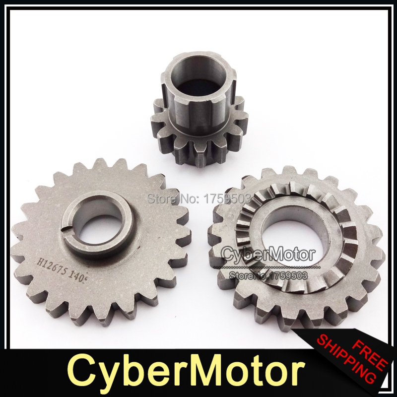 YX150 YX160 Idler Driven Bridge Kick Strat Gears For Chinese YX 150cc 160cc Engine Pit Dirt Bike Motocross SSR Thumpstar