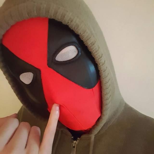 Lycra Super Stretch Deadpool Mask Halloween Cosplay Deadpool