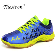 Thestron Men Women Badminton Shoes 2019 Indoor Table Breathable Anti Slip Professional Tennis Sneakers Court