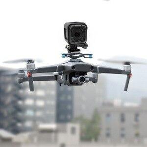 Image 5 - Para a Ação Gopro Camera Estabilizador Suporte para DJI Mavic 2 Pro/Zoom Zangão Adaptador de Suporte de Montagem Acessórios