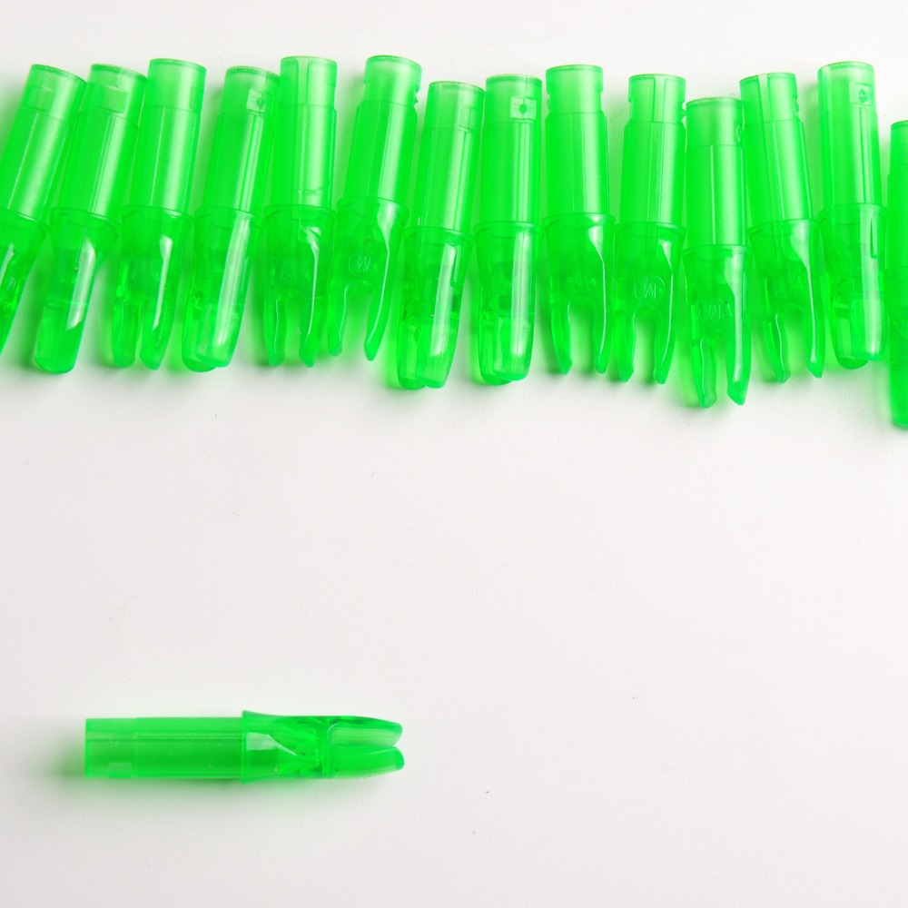 10pc Plastic Pin Nock Arrow Nocks for Aluminum Insert Arrow Shaft