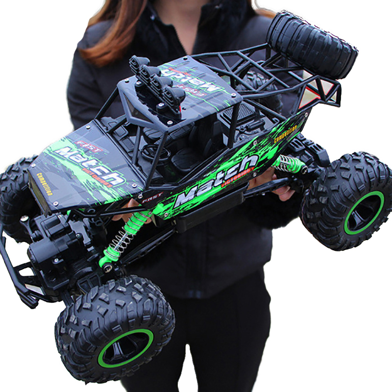 1:12 4WD RC car update version 2.4G radio remote control car car toy car 2017 high speed truck off-road truck children's toys