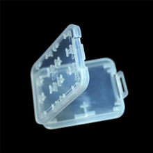 Hot Sale High Quality 8 in 1 Plastic Micro for SD SDHC TF MS Memory Card Storage Case Box Protector Holder(China)