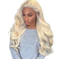 613 мёд блондинка синтетические волосы на кружеве человеческие Искусственные парики предварительно сорвал средства ухода за кожей волна