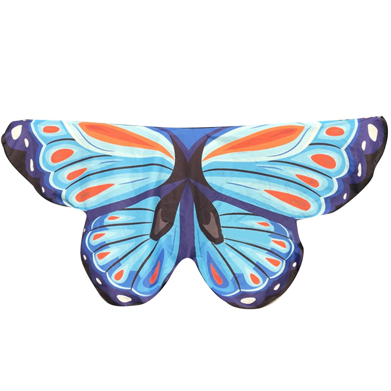 ขาย Fancy Butterfly Wings Shape Shawl Wrap Fairy Ladies Girls Nymph Pixie Costume Accessory Beach Cover Wear Party Props Style C Intl ถูก ใน จีน