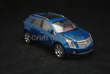Blue 1/18 Cadillac SRX 2011 Diecast Model Car SUV Limited Edition Luxury Vehicle Brinquedos Off Road Automobile