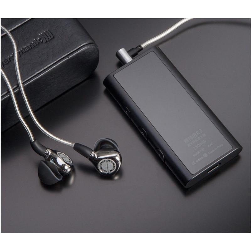 Artextreme R3 CSR8675 AptX-HD Bluetooth 5.0 Casque Amplificateur CNC Métal HiFi Audio Amplificateur Double Circuit