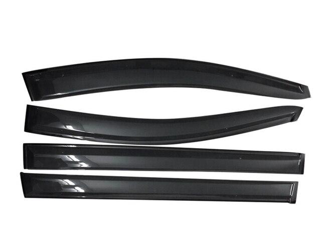 2011-2015 Para Toyota Sienna Ventana Viseras Lluvia Guardias Vent Shade Escudo Deflector 4 unids