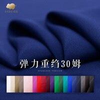 30 mm stretch heavy silk fabric 21 colors heavy crepe silk fabric solid color crepe de chine silk fabric wholesale silk cloth