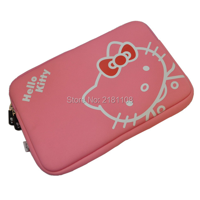 165704950ff3 Carton Hello Kitty Sleeve Soft Pouch Case Cover Pink Bag for MacBook  Pro Air w Retina 13