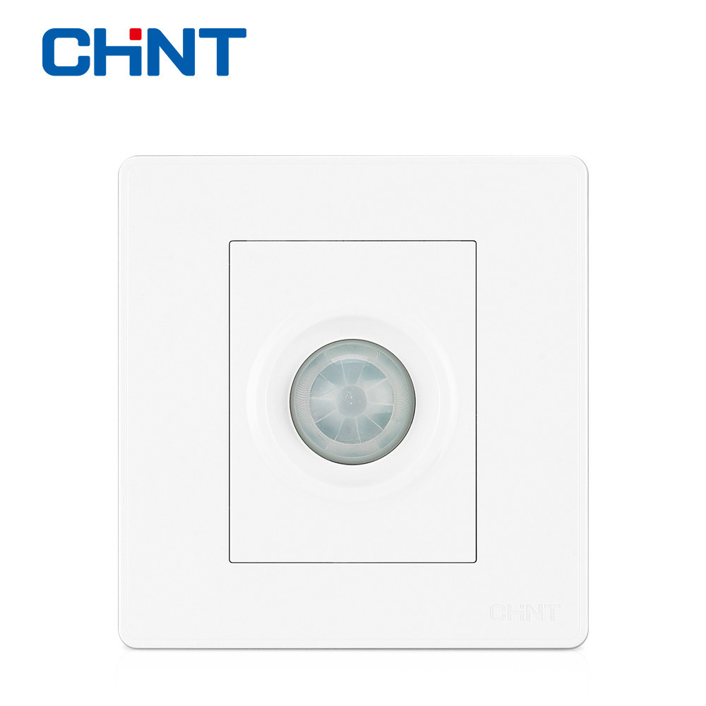 Chint Electric Infrared Switch Wall Socket New2d Ivory White Single Pole Toggle Panel Sensor Delay In Switches From Lights Lighting On
