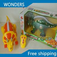 Nueva llegada, RC dinosaurio animales de Simulación de control remoto RC Dinosaurio de juguete mejor regalo para los niños envío gratis