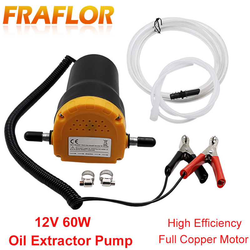 Oil pumps pumps and pump extractor motor diesel fluid transfer oil for extracting engine oil and electric diesel 60W 12V
