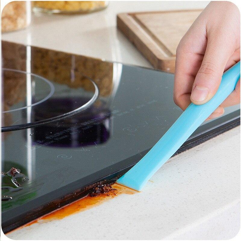 Creative Cuisine Gadgets Cleaner Crevasse Nettoyage Grattoir Cuisine Accessoires Articles de Cuisine De Nettoyage pour Mutfak Aksesuarlari. Q