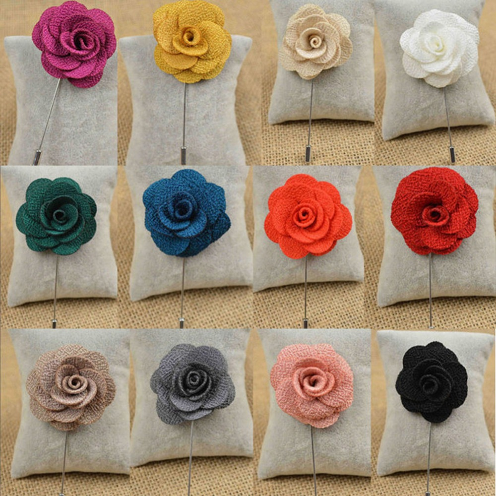 6 colors fabric flower lapel pins camellia brooch for suit brooches 6 colors fabric flower lapel pins camellia brooch for suit brooches for wedding bouquets broszki broches mujer boutonniere 35 in brooches from jewelry izmirmasajfo