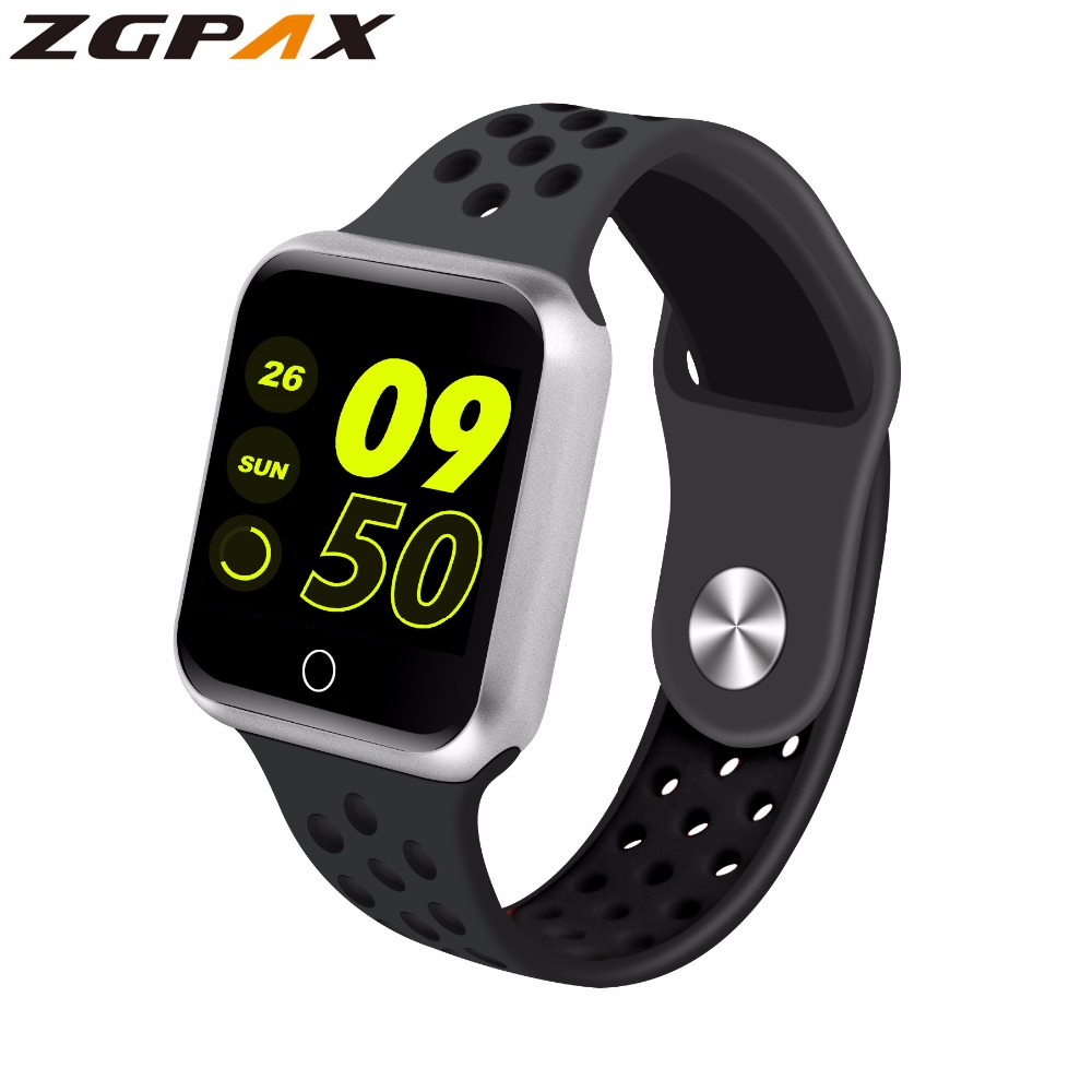 ZGPAX Smart Watches Smartwatch-Support Long-Standby Heart-Rate Blood-Pressure 15-Days