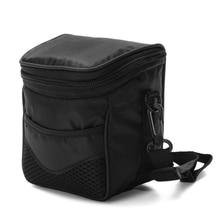 Black Digital Camera Waterproof Case Shoulder Bag For Nikon Canon
