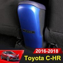 ABS заднего подлокотник коробка панель крышка детей Анти Удар защитный чехол Накладка для Toyota C-HR C HR CHR 2016 2017 2018 интимные аксессуары