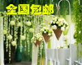 Wedding hook lead hook road can hang red lantern road lead, wrought iron road of Chinese and western wedding shelf