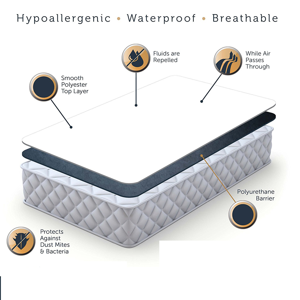 smooth mattress cover