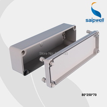 Wholesale Different Size Waterproof ABS Box Electrical Wire Junction Box 80*250*70mm