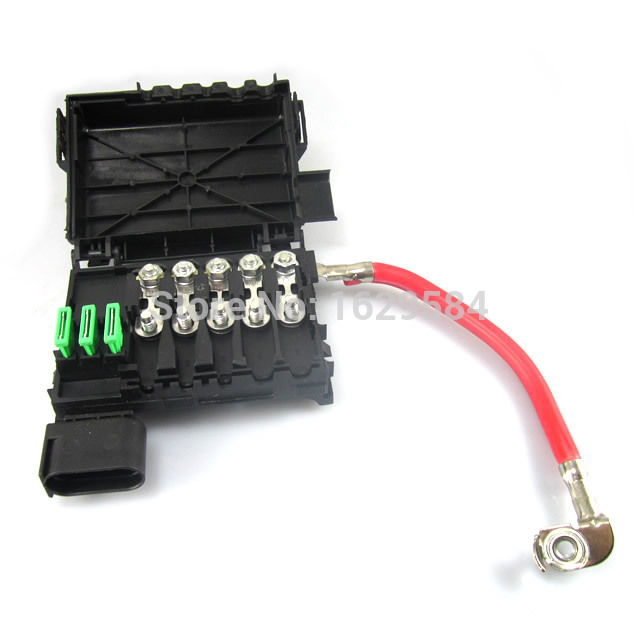 popular battery fuse box buy cheap battery fuse box lots from oem 1999 2004 for vw jetta golf mk4 fuse box battery terminal 1j0937550a 1jo937550a 1j0937550b