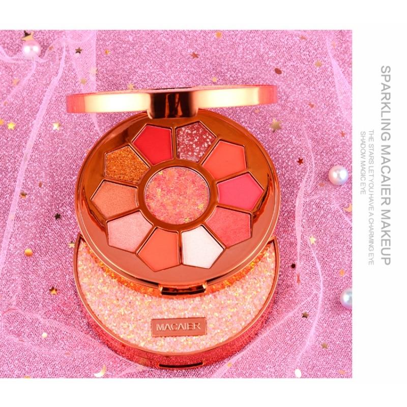 11 Colors Eyeshadow Makeup Pigments Waterproof Shimmer Glitter Eye shadow Make up Palette maquiagem