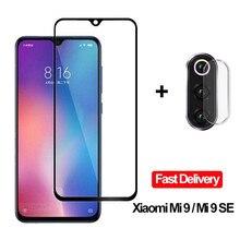 2 in 1 Camera Glasses Xiaomi Mi 9 SE 9se Tempered Glass Screen Protector Xiaomi Mi 9 Glass Flim 9 T Xiaomi Mi 9 se 9T MI9T