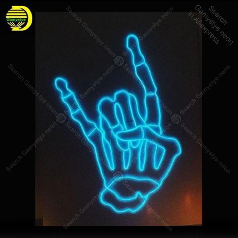Néon signe personnalisé main néon signes réel verre Tube conseil néon ampoule enseigne décorer maison chambre lampes artisanales éclairer