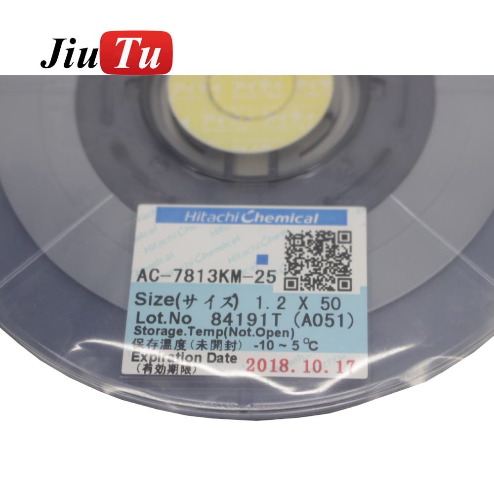 Power Tool Accessories Temperate Jiutu Original Acf Ac-7813km-25 Smartphone Lcd Repair Tape 12mm*50m