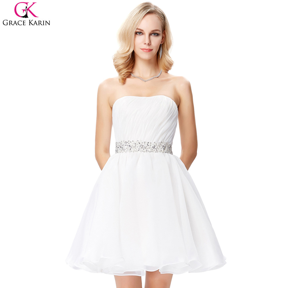 Online Get Cheap Prom Dress White Short -Aliexpress.com | Alibaba ...