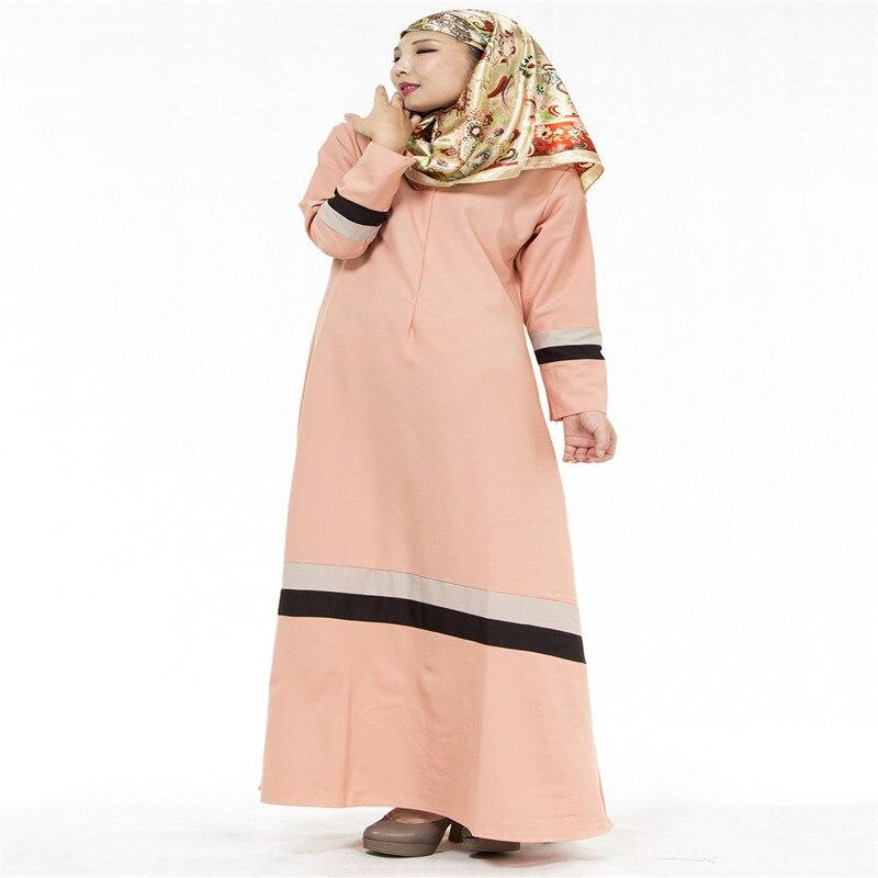 Bubble Tea Women Muslim Long Dress Islamic Abaya Kaftan Dubai Tyrkisk - Nasjonale klær - Bilde 6