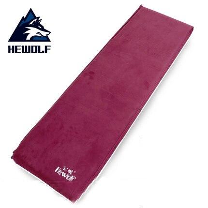 Hewolf tente extérieure coussin d'humidité coussin de couchage tapis de camping tapis de sol unique épaissi coussin gonflable automatique