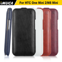 IMUCA Leather Case For HTC One Mini 2 M8 Mini Flip Leather Cover For HTC One