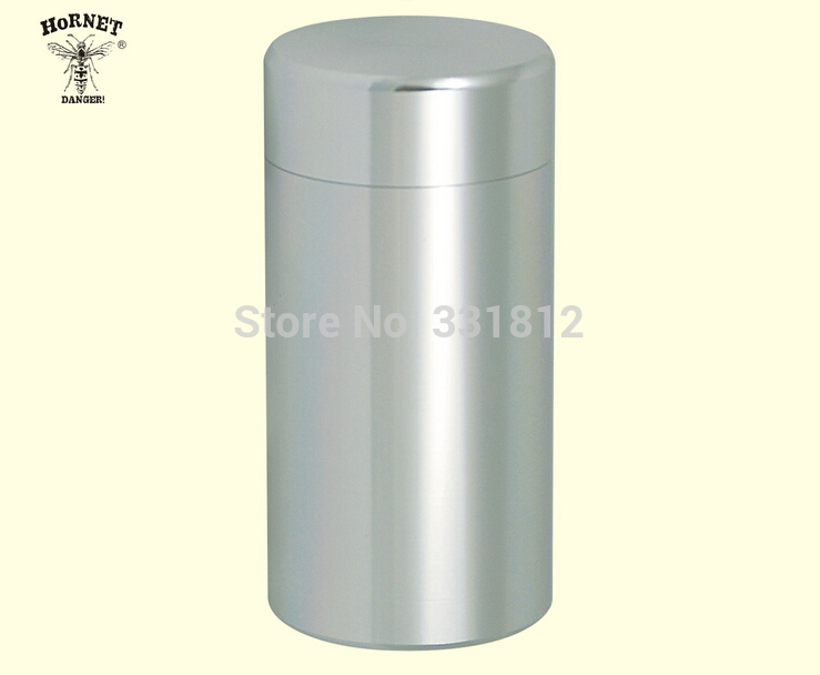 120pcs/lot 2015 mini Pill Box WaterProof Aluminum Drug Case Bottle Holder Container Silver