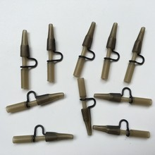 10pcs/lot carp Fishing Heavy Duty Lead Clip & tail rubber For Carp Fishing Accessories Carp End Tackle