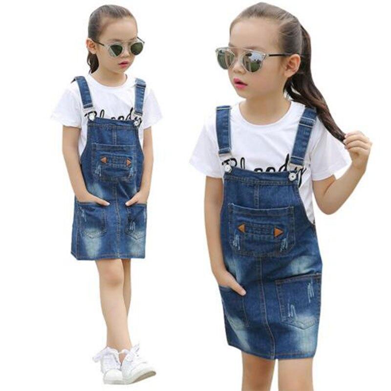 Marca bebé chicas vestido de ropa para 3-10 T niñas infantil de verano de  los niños de moda adolescente cinturón Vestidos vestido de bebes d2ed902cd7c