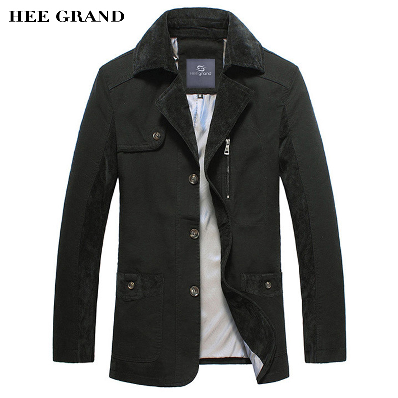 HEE GRAND Men's Casual Suit Slim Fitted Blazers