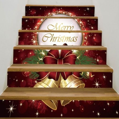 New 3d Christmas Tree 6 Stair Risers Decoration Photo