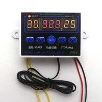 12V Digital Temperature Controller W88 LED Thermostat Temperature Regulator Switch Control Aquarium Incubator Probe Sensor